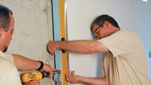 installing a basement wall finishing system in Ironwood