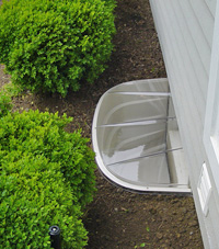 basement egress window well in Iron River