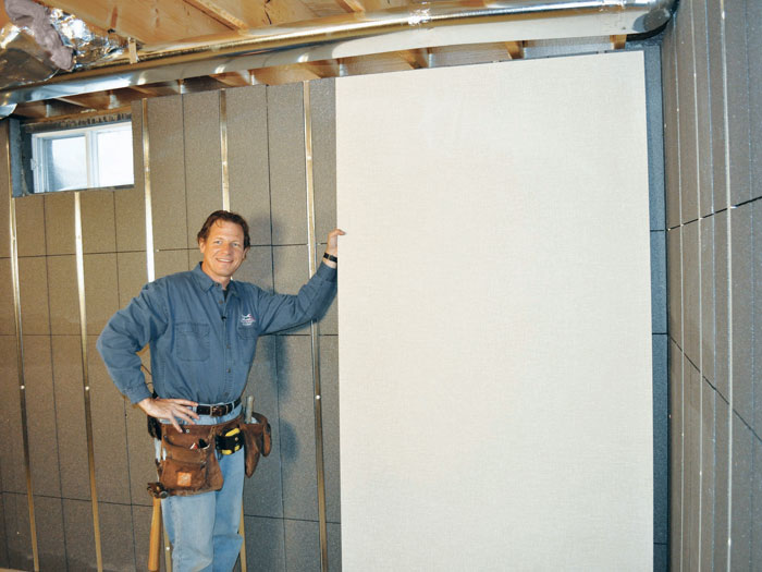 basement wall panels.  We recommend installing durable inorganic EverLast wall panels on top of our Basement to Wall Panels Michigan and Wisconsin Inorganic Insulation