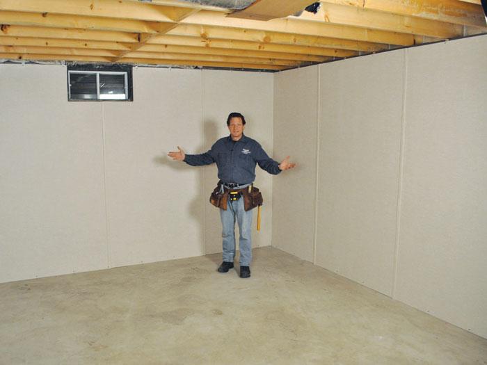 Basement Wall Panels Michigan And Wisconsin Inorganic Insulation - Waterproof basement wall panels