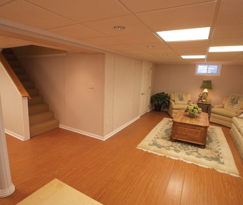 ... MillCreek Flooring™ is an excellent option for a polished ... - Finished Basement Wood Flooring MI And WI