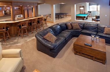 finished basement floor. Basement Carpet Flooring Waterproof Floor Matting Installed Michigan and Wisconsin