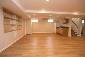 Basement finishing flooring in Ashland & nearby