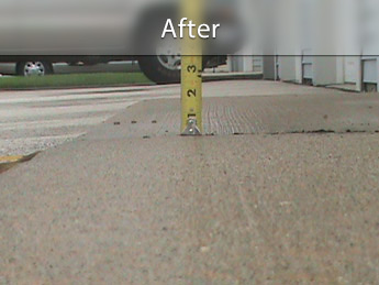 Repairing driveway with concrete leveling in MI and WI