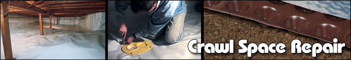 Crawl Space Repair in MI and WI, including Calumet, Ironwood & Ashland.
