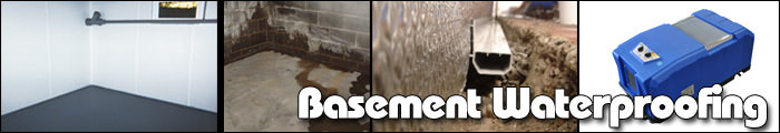 Basement Waterproofing in MI and WI, including Ironwood, Calumet & Ashland.