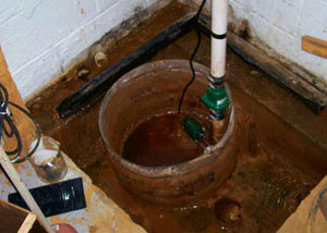 Extreme clogging and rust in a Park Falls sump pump system
