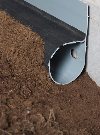 crawl space drain system installed in Three Lakes