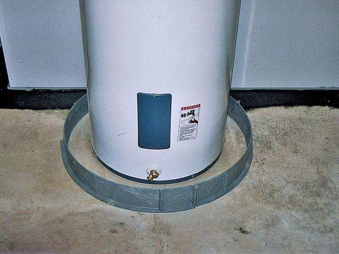 Water Heater Flood Protection Marquette Iron Mountain