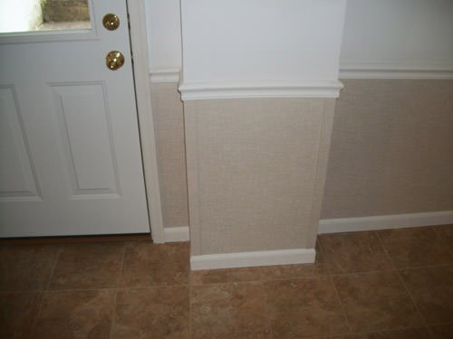 a bright white washable basement wall covering that does not adhere to the walls and resists mold & rot for Baraga homeowners