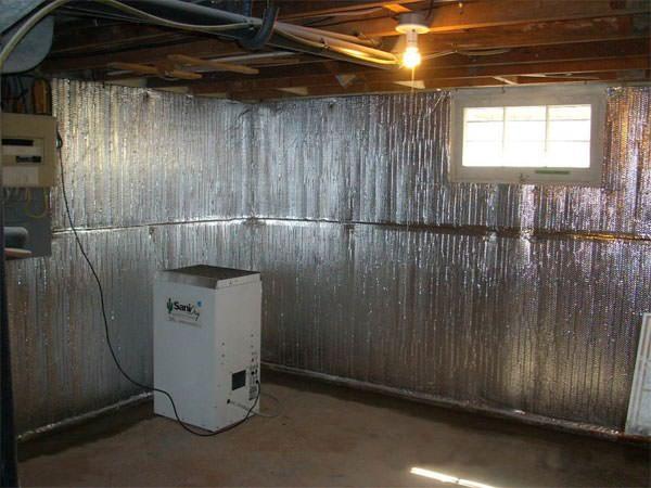 Basement Radiant Wall Barrier Marquette Ashland Iron